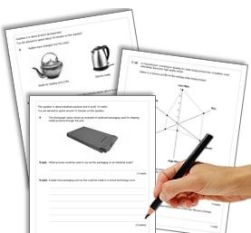 AQA GCSE Design & Technology Practice Papers (2013 Contexts)