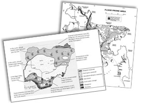 GCSE Edexcel B Geography: Unit 3 Practice Papers with Mark Schemes