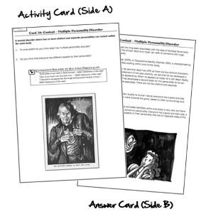 Strange Case Dr. Jekyll and Mr. Hyde A5 GCSE Revision Cards