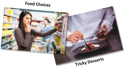 Food Challenges for GCSE Food Preparation and Nutrition: Tricky Desserts
