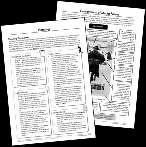 Media Studies: GCSE (9-1) Eduqas NEA Prep Pack: Print-based