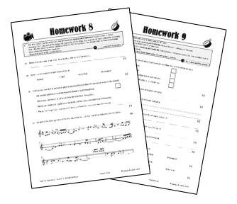 GCSE OCR Listening Homeworks: AoS 3: Rhythms of the World