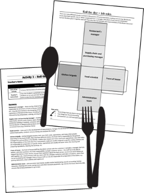 WJEC Level 1/2 Hospitality and Catering: Starters and Plenaries for Unit 2