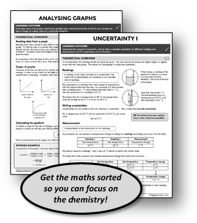 Mastering Maths for A Level Edexcel Chemistry