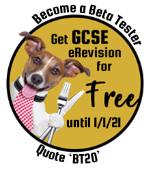 Become a beta tester: get GCSE eRevision for free. Quote BT20.