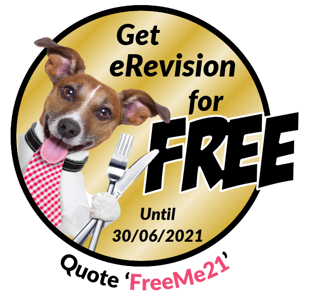 FreeMe21: get GCSE eRevision for free. Quote FreeMe21.
