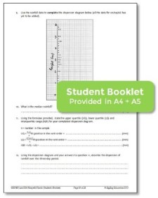 student booklet samples